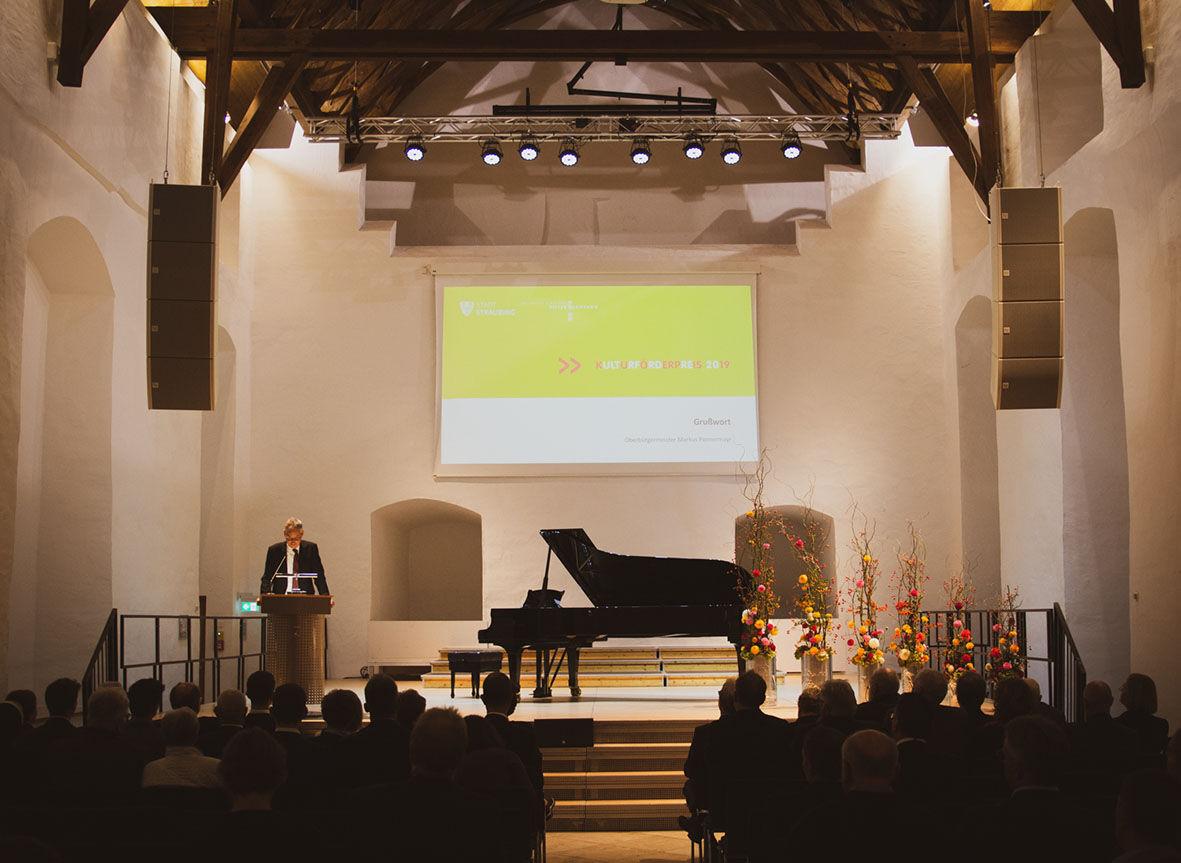 Rittersaal innen Kulturförderpreis