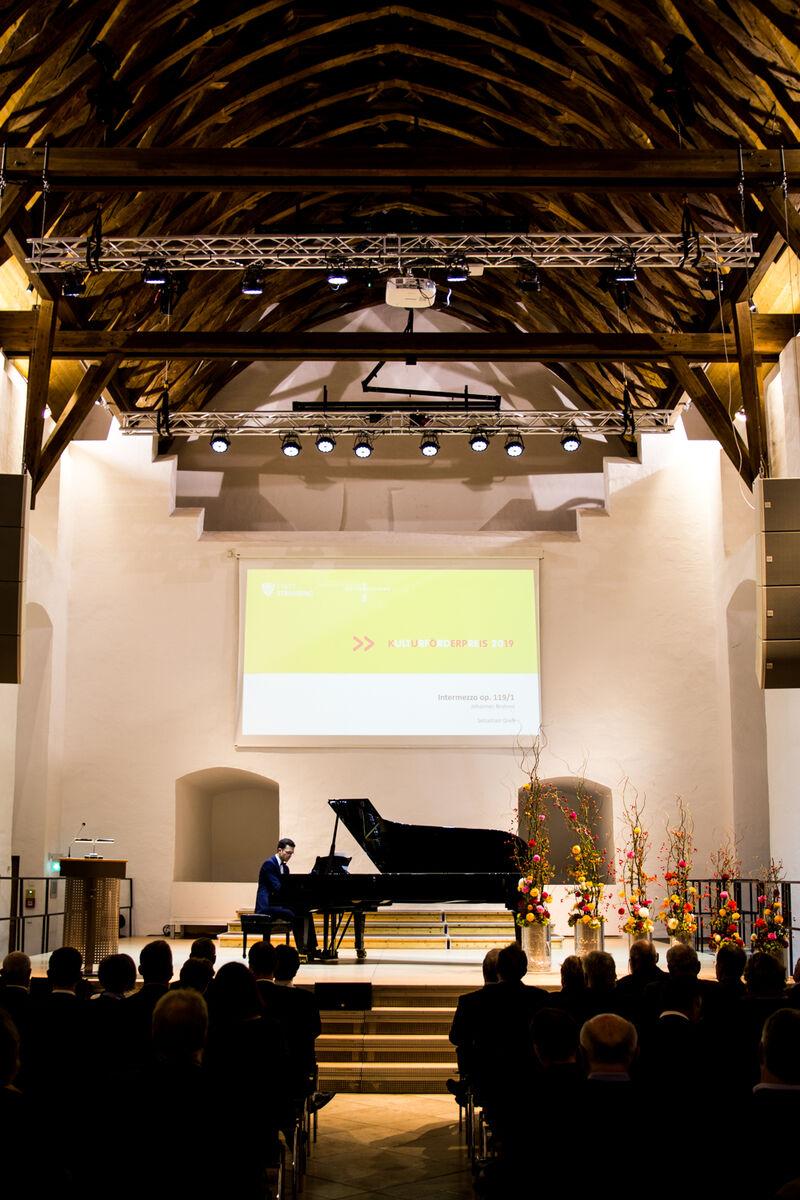 Rittersaal innen Kulturförderpreis 2